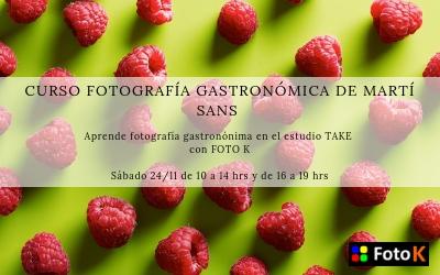 Nuevo Curso de Gastronomía por Martí Sans en Take estudios