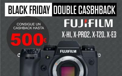 Doble Cashback en Fujifilm, hasta 500€ de reembolso