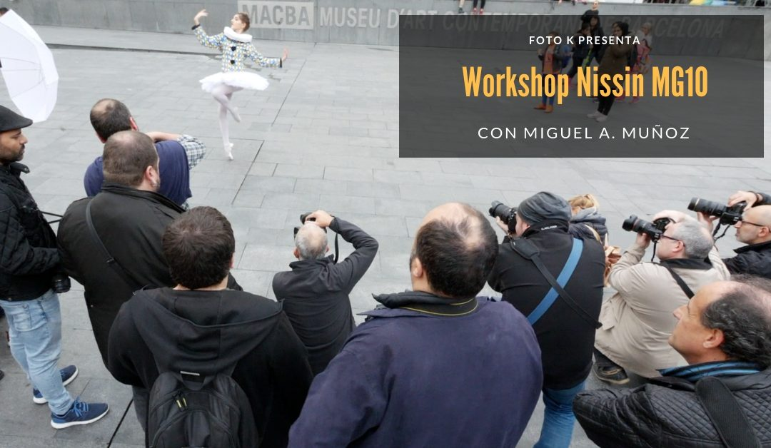 Resumen del Workshop de Miguel A. Muñoz y el Nissin MG10