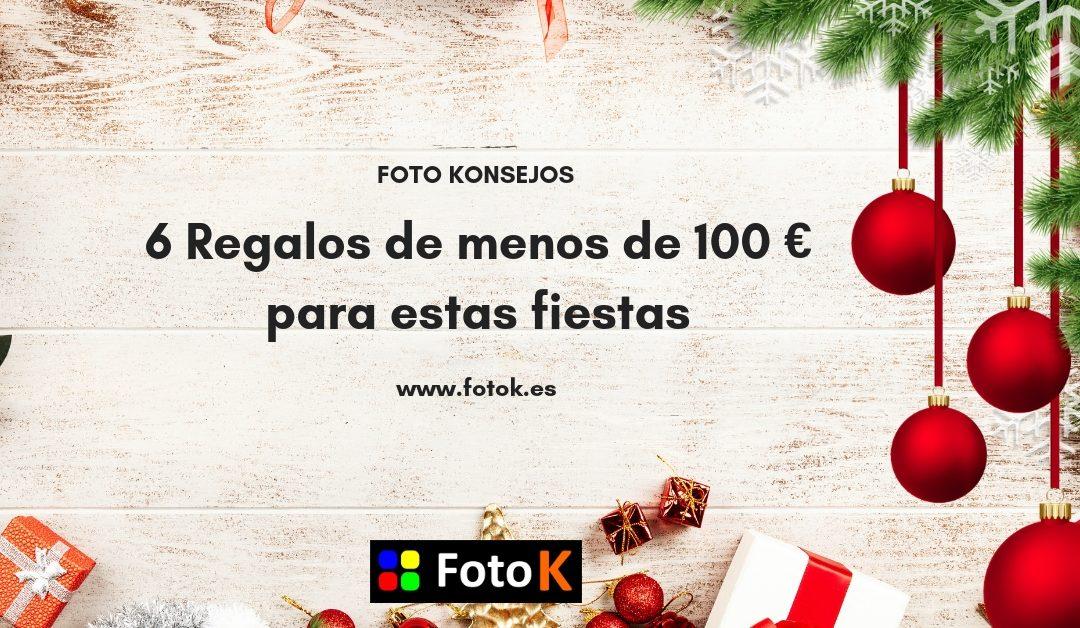 6 Regalos de menos de 100 € para estas fiestas