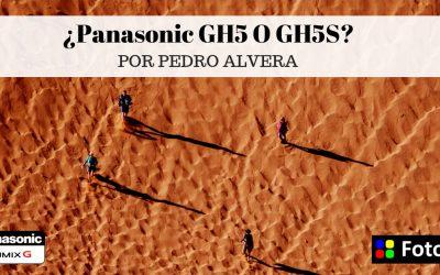 Hablando de la Panasonic GH5 y GH5S con Pedro Alvera