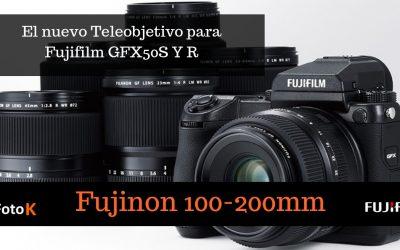 Fujifilm GF 100-200mm, un nuevo objetivo para la GFX50S y R