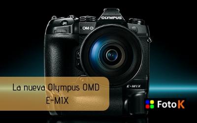 Olympus OMD E-M1X, rendimiento y fiabilidad para la fotografía profesional