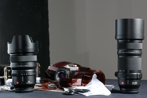 objetivos panasonic lumix 50 mm y 70-200 mm