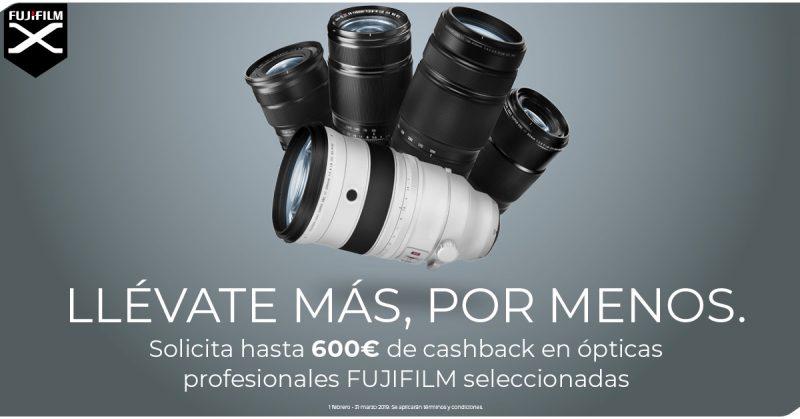 Ahorra 600€ con objetivos Fujifilm