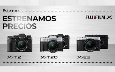 Precios especiales para Fujifilm Serie X