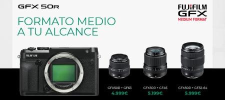 Fujifilm GFX 50R, una cámara de formato medio por menos de 5000€