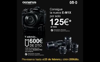 Ahórrate 200€ en la pre-reserva de la nueva Olympus OMD E-M1X
