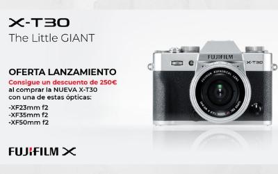 Lanzamiento de la Fujifilm X-T30 con 250€ de descuento