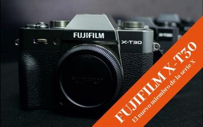 FujiFilm X-T30, un nuevo miembro de la serie X