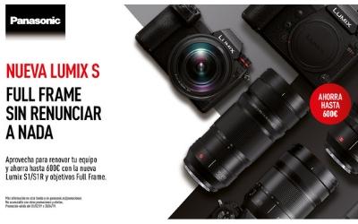 Panasonic Lumix S1 y S1R, promoción de lanzamiento