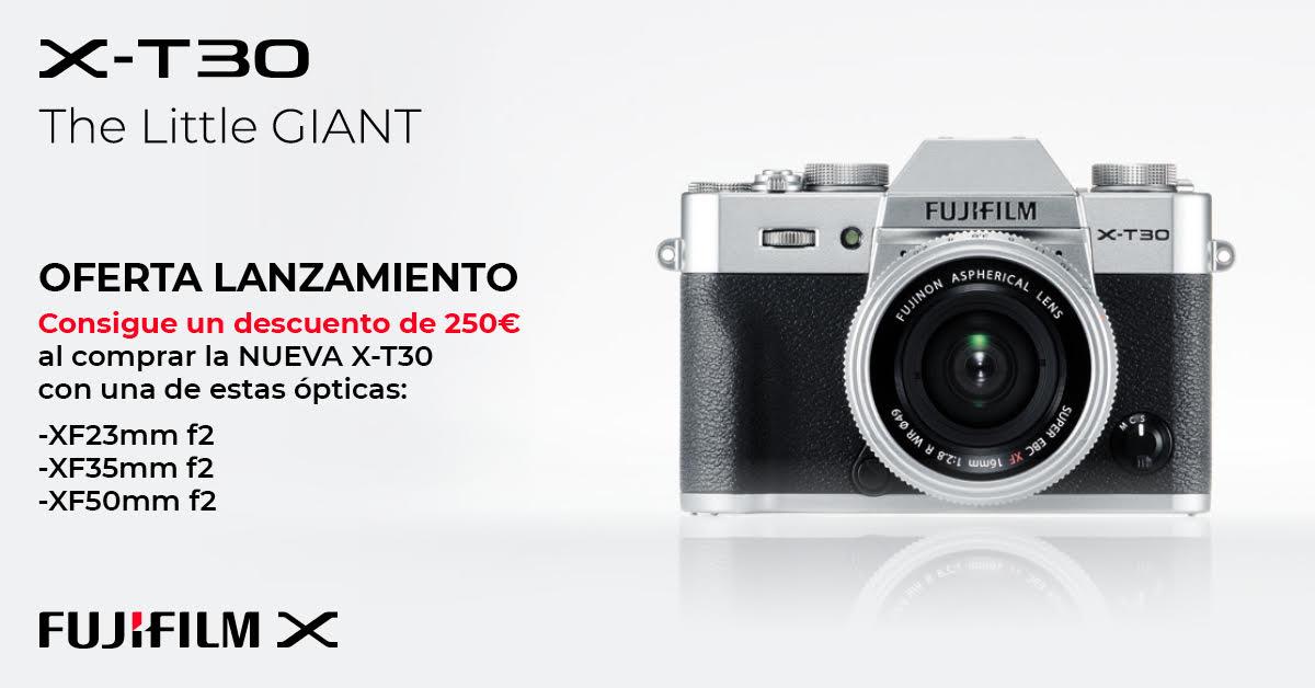 oferta descuento de lanzamiento xt30 fotok