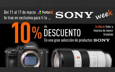 Sony week en FotoK (11 al 17/03)
