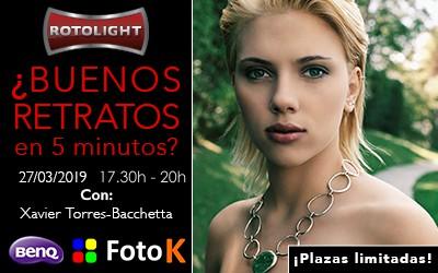 Los mejores retratos en 5 minutos con Rotolight y Xavi Torres