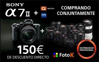 Descuento de 150€ en la Sony A7II ( ILCE7M2)