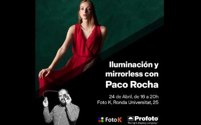 Dominar la luz con tu mirrorless, con Paco Rocha