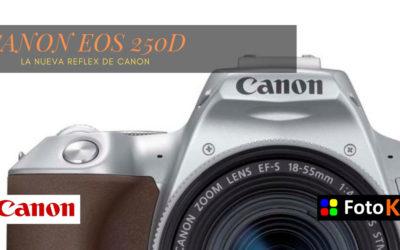 Canon EOS 250D, la nueva Réflex de Canon