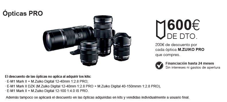 Ópticas Pro promo verano olympus fotok