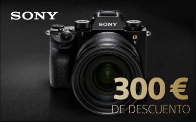 ¿Quieres ahorrarte 300€ en tu nueva Sony Alpha 9?