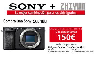 Promoción Kit Sony A6400 Zhiyun