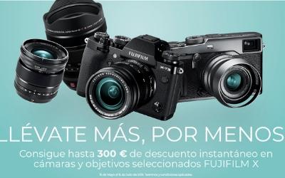 Descuento directo de hasta 300€ por producto en FujiFilm