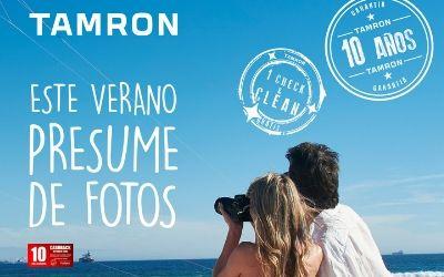 Hasta 100€ de reembolso por tu nuevo objetivo TAMRON