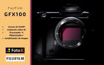 Nueva GFX100 la nueva cámara de Formato Medio de FujiFilm