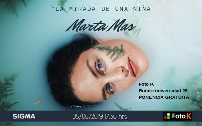 """Marta Mas, """"La mirada de una niña"""" Taller en la Sigma ProWeek de Foto K"""
