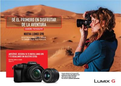 Un objetivo Lumix G H-H025 GRATIS por la compra de la LUMIX G90