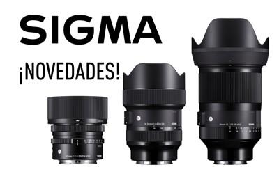 SIGMA presenta 3 nuevas ópticas de las series ART y Contemporary