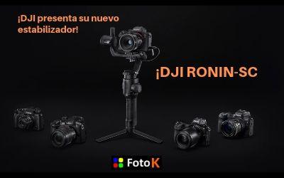 Nuevo estabilizador RONIN-SC de DJI