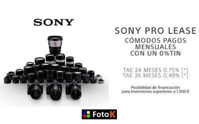Sony PRO LEASE, Paga mensualmente en cómodos plazos