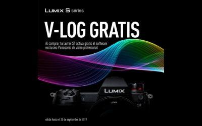 Actualización Vlog gratis para usuarios de Lumix S1