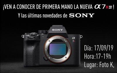 Presentación Sony A7R4 y últimas novedades con Pablo Gil