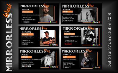Resumen de la Mirrorless Week en Foto K, los mejores talleres