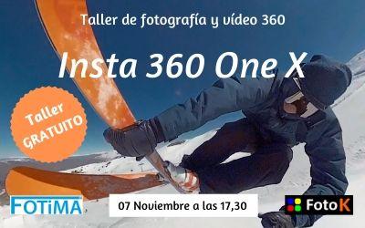 Taller de fotografía/Vídeo 360º con Insta 360 One X