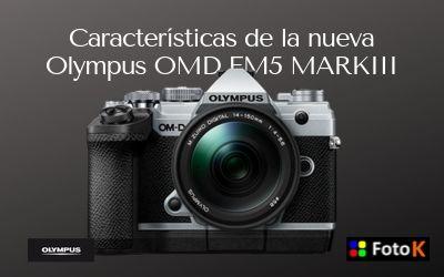 Nueva Olympus OMD EM5 Mark III