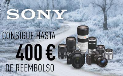 SONY, consigue hasta 400€ de reembolso