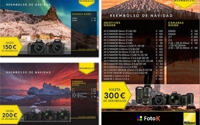 Hasta 800€ de reembolso en Artículos Nikon
