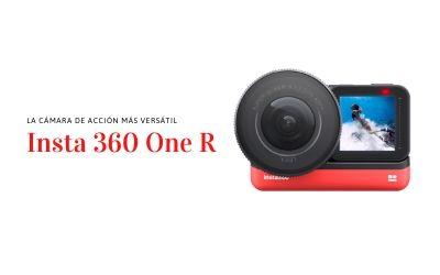 Insta 360 one R, la cámara de acción más versátil