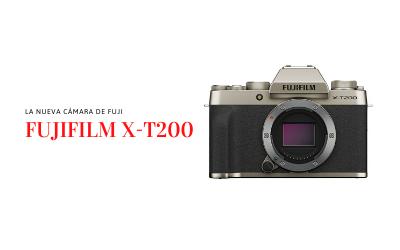 Fujifilm X-T200 sencilla y completa, lo último de Fujifilm