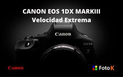 Canon EOS 1DX MARKIII, velocidad extrema