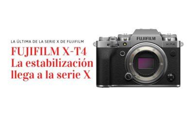 Nueva FujiFilm X-T4, la estabilización llega a la serie X-T