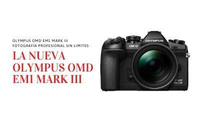 Olympus OMD EM1 Mark III, portabilidad profesional