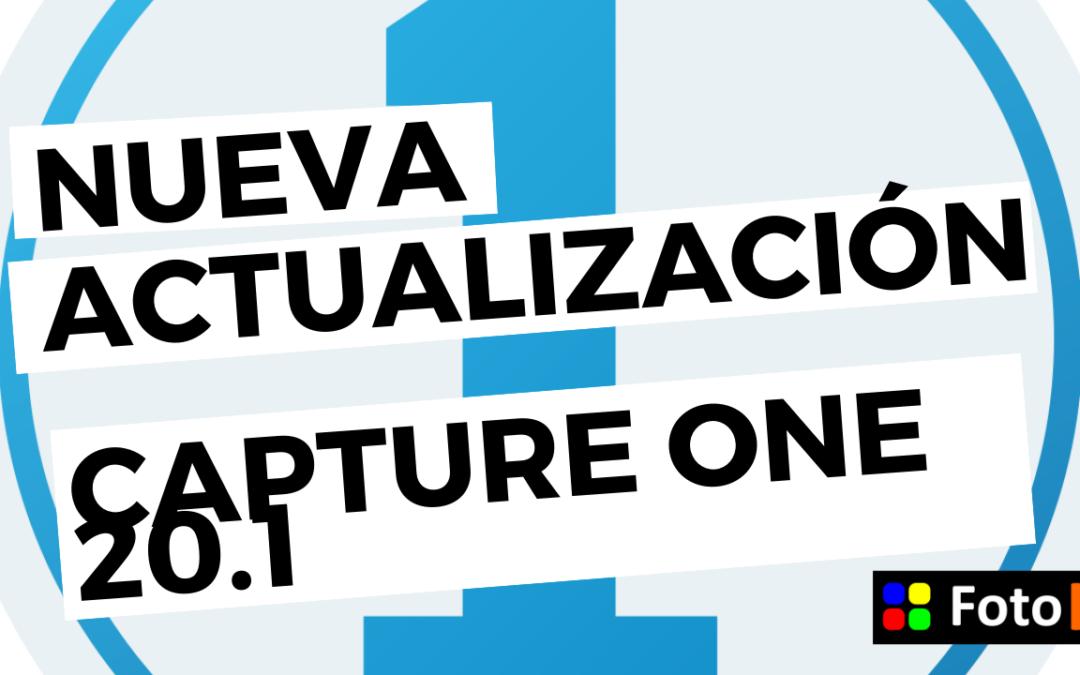 Capture One 20.1 la nueva actualización