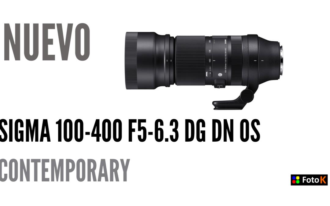Sigma presenta el 100-400mm f5-6.3 DG DN OS Contemporary, junto a más novedades