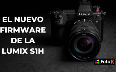 Nuevo Firmware para la LUMIX S1H, grabación de vídeo Raw en HDMI