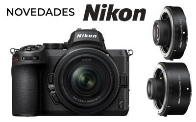 Novedades NIKON: Z5, 24-50mm y 2 teleconvertidores Z