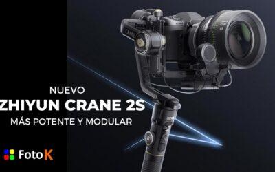 Zhiyun Crane 2S, más potente y modular
