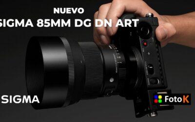 Sigma 85mm DG DN ART, la redefinición de un clásico